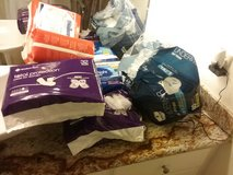 Large Lot of diapers and pads adult in Kingwood, Texas