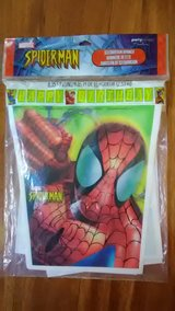 Spiderman Birthday Banner in Sugar Grove, Illinois
