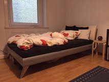 Bed with Mattresses 140 x 200 FREE DELIVERY in Stuttgart, GE
