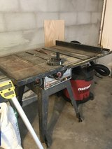 10 inch Craftsman Table Saw in Pleasant View, Tennessee