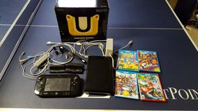 Wii U console, gamepad, games, and accessories in Bolingbrook, Illinois