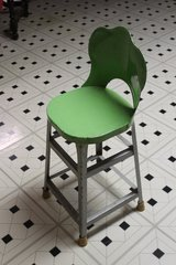 Vintage or Retro metal booster chair in Tinley Park, Illinois