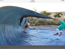 Tarp Wave Skateboard surfing- XL tarp- camping or household usage in Ramstein, Germany
