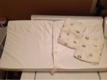 Changing table pad covers in Plainfield, Illinois