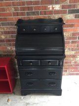 small roll top desk with 3 drawers in Biloxi, Mississippi