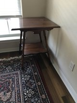 antique side table in Baytown, Texas