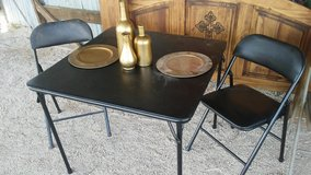 Folding Card Table with 2 Chairs in DeRidder, Louisiana
