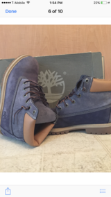 """Timberlands 6""""-Size 7 in St. Charles, Illinois"""