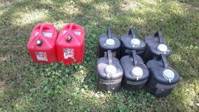 Oil recycle cans/fuel cans in Fort Leonard Wood, Missouri
