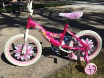 girls disney princess bike in Schaumburg, Illinois