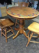 pub table and 3 chairs in Palatine, Illinois