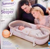 summer by your side sleeper for baby in DeRidder, Louisiana