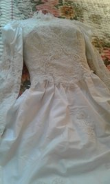 Long Sleeve,Antique Look WEDDING Dress in Naperville, Illinois