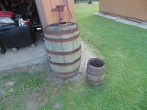 Whiskey barrel small in Westmont, Illinois