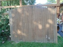 Cedar fence in New Lenox, Illinois