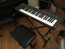 Yamaha PSR-15 Keyboard w/Stand and Seat in Plainfield, Illinois