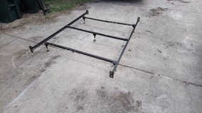 Twin To Full To Queen Metal Bed Frame! in Warner Robins, Georgia