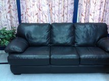 Leather Couch in Schaumburg, Illinois