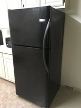 Frigidaire black refrigerator like new in Fort Bragg, North Carolina