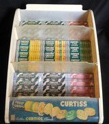 Vintage Curtiss Candy Co. Counter Store Display Sign in The Woodlands, Texas