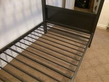 Bunk bed frame with normal wear mattress included. in Las Vegas, Nevada