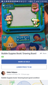 Bubble guppie book in Fort Bliss, Texas