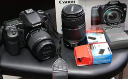 Canon 40D DLSR with lenses in Okinawa, Japan