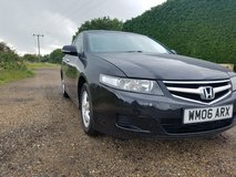 BLACK 2006 HONDA ACCORD 2.0 AUTOMATIC PETROL in Lakenheath, UK