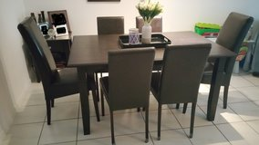 Dining Sets - one table and 6 chairs - Good Condition! in Bartlett, Illinois