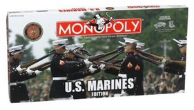 USMC edition Monopoly in Okinawa, Japan