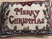 Merry Christmas Pillow in Okinawa, Japan