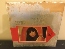 Best of Cher Japan lp, cover beat up, record poor in Okinawa, Japan