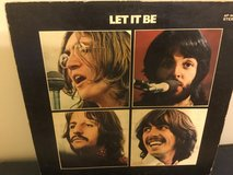 Beatles record Let it Be made in Japan poor shape, no inner sleeve in Okinawa, Japan