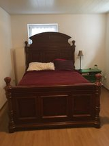 Queen bed and dresser in Ramstein, Germany