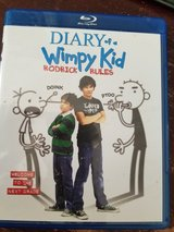Diary of a wimpy kid Blu ray in Hinesville, Georgia