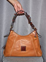 DOONEY & BOURKE Camel Color Leather Bag in Okinawa, Japan