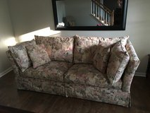 Berne Tuxedo Floral Couch in Plainfield, Illinois