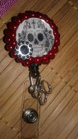 Skull badge reel!! in Hopkinsville, Kentucky