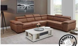 Neuss- Sectional - NEW MODEL in 4 different colors - price includes delivery in Hohenfels, Germany
