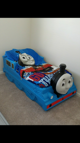 Brand new Thomas and friends step 2 toddler's bed with mattress in Sugar Grove, Illinois