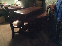 Antique table and 4 chairs in Leesville, Louisiana