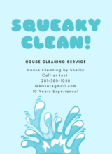 House Cleaning by Shelby in Buckley AFB, Colorado