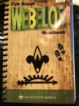 New Webelo book in Aurora, Illinois