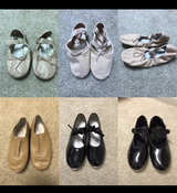 Girls Dance Shoes - Ballet/Tap Sizes 10, 11, 13, 1, 1.5 in Naperville, Illinois