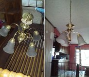 2 Matching Brass Chandeliers in Westmont, Illinois
