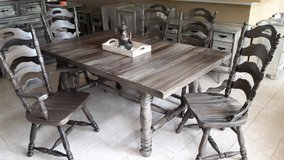 Large Rustic Dining Set in Baytown, Texas