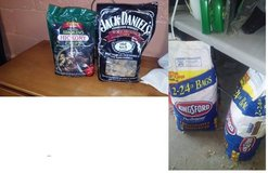Charcoal and woodchips in Westmont, Illinois
