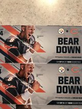 2 tickets for Bears vs Steelers game in Ottawa, Illinois