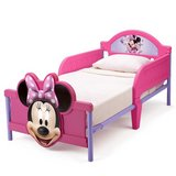 Minnie Mouse 3D Toddler Bed with crib mattress - like new in Fort Lewis, Washington