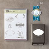 Stampin up Label Me Pretty Clear-Mount Bundle-new unused in Bolingbrook, Illinois